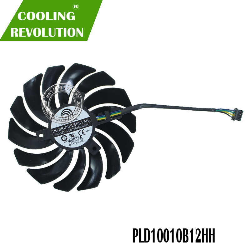 Brand new original authentic graphics card fan PLD10010B12HH DC12V 0 40A  for MSI GeForce RTX 2070 ARMOR 8G OC