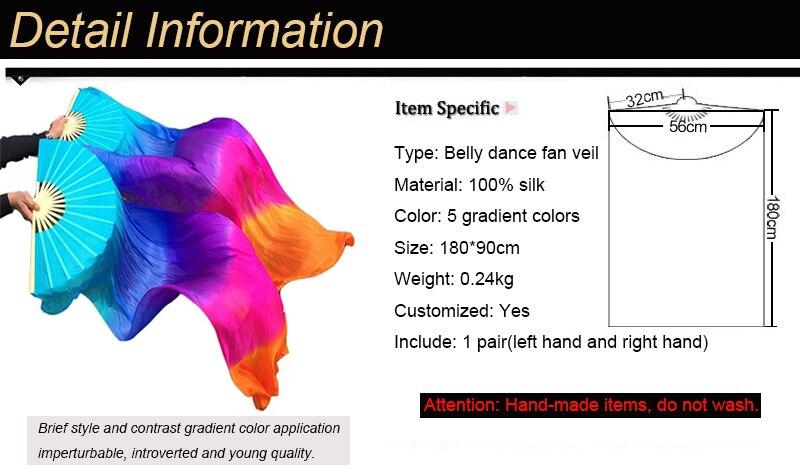 belly dance fan veils