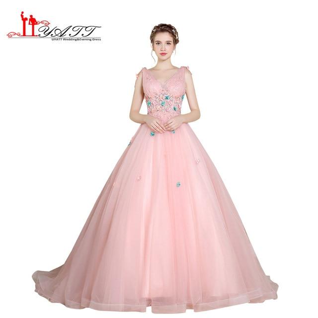 Pearl Pink Prom Dresses