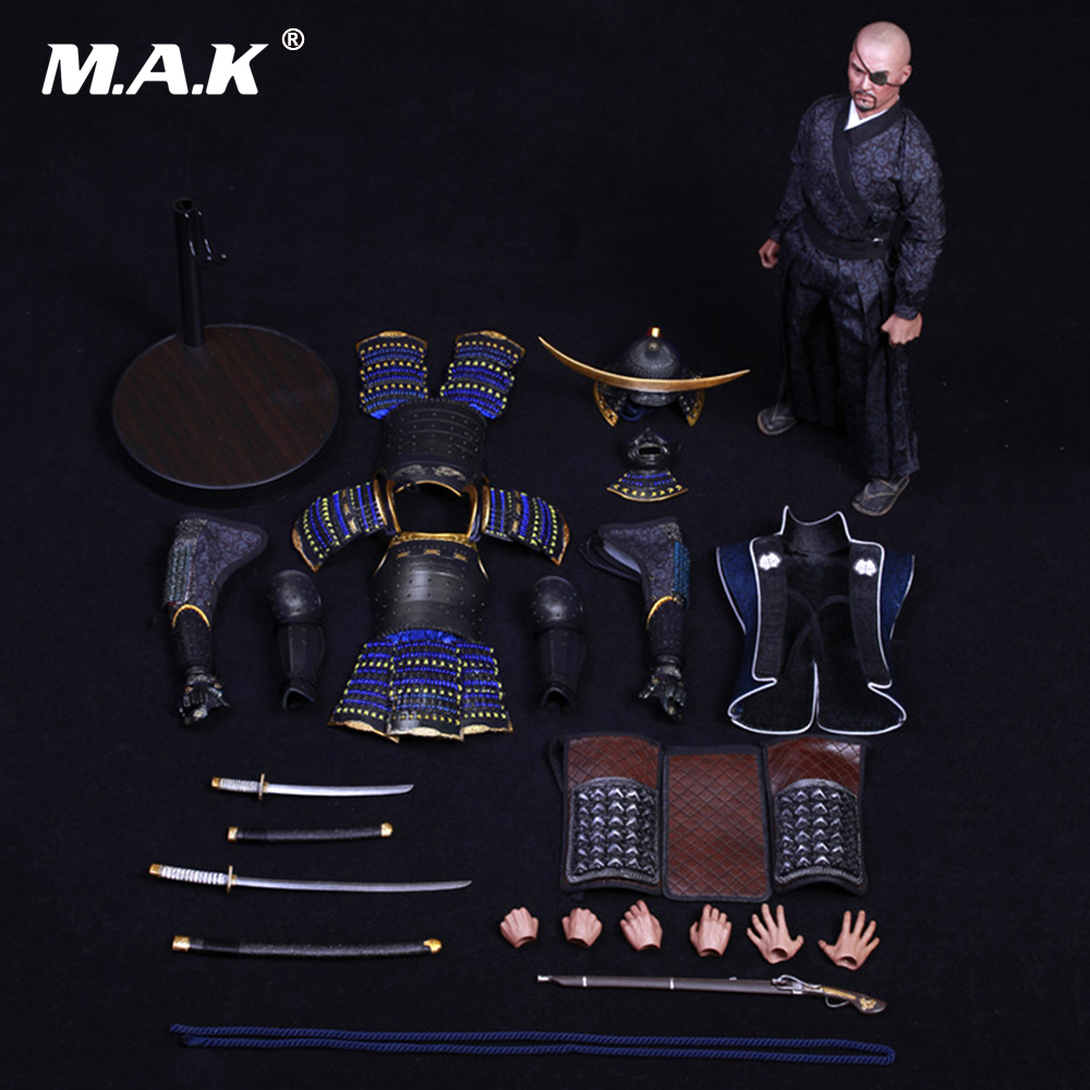 COOMODEL NO.SE008 1/6 SERIES OF EMPIRES -JAPAN'S WARRING STATES- DATE MASAMUNE full Set toys & figure doll collection japan warring states warriors q version of the war era of japanese samurai toy model decoration collection 7pcs set