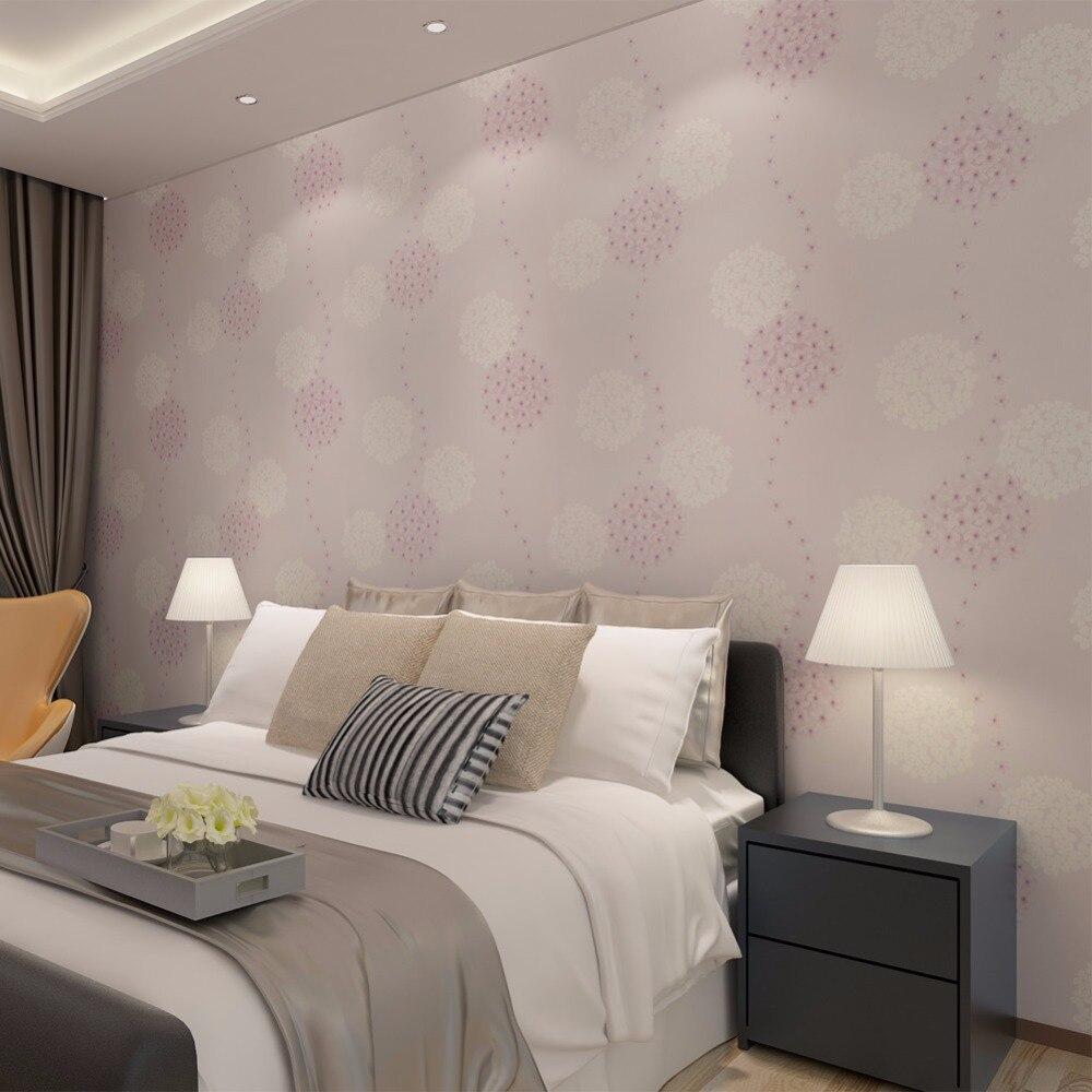 Aliexpress Com Buy Hanmero 3d Wallpaper Flower Cute