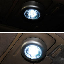 1PCS 3 LED Led Car Interior Trunk Door Touch Light Light Battery Powered Emergency Car Home Wall Lamp Night Mini Reading Lamp(China)