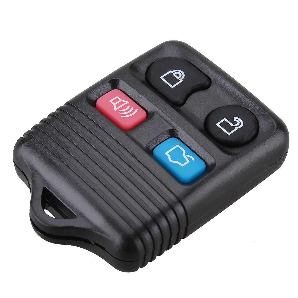 4 buttons replacement remote key shell for ford focus escape mustang thunderbird lincoln town car