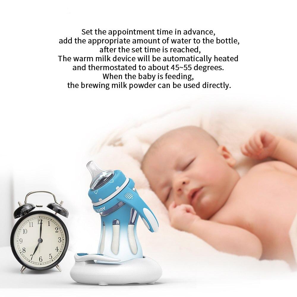 Erfinderisch Baby Infant Feeding Glas Flasche 180 Ml 240 Ml Fallen Feste Anti-koliken Neugeborene Milch Flasche Fernen Infrarot Baby Milch Wärmer Mutter & Kinder Flaschenzuführung