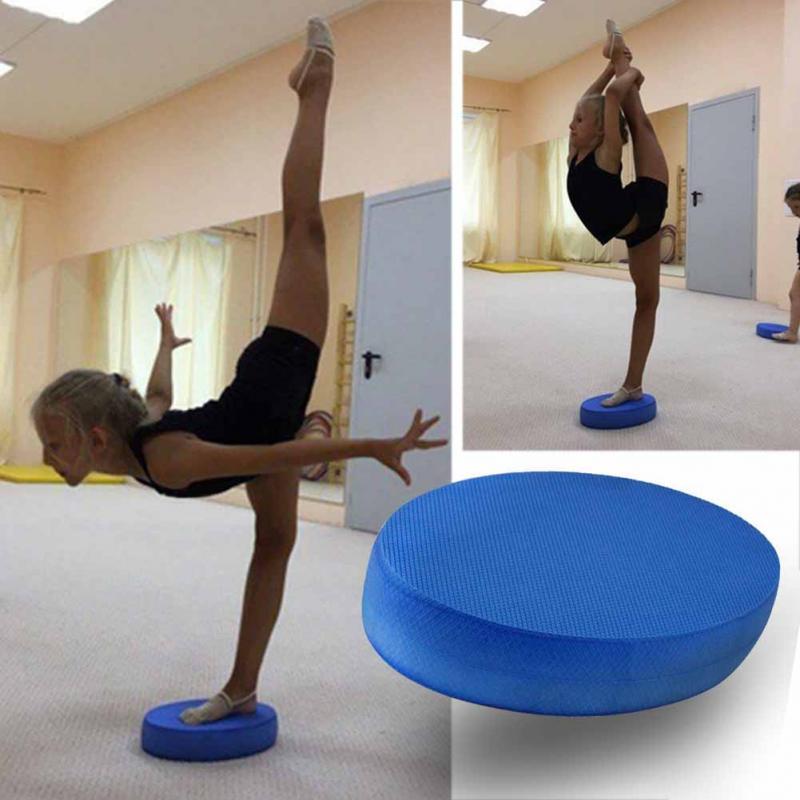 Offre spéciale 18*31*6cm Durable Yoga coussin mousse conseil Balance Pad Gym Fitness exercice tapis femmes entraînement équilibre exercice # H917