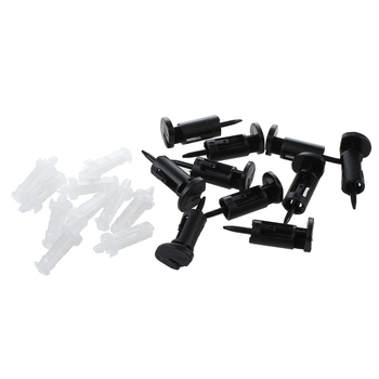 PROMOTION! Hot 10 Pcs Plastic Mounting Clip for Intel 4 Way CPU Coolers