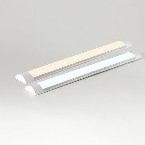 """Image 4 - led tube 18W 2Ft 24"""" 10W 1.1Ft 14"""" LED Batten Linear Light Bar Fluorescent Tube Lamp 36cm 60cm Cool White warm white 110V 220V"""