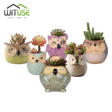 Owl-shaped Plants WITUSE Ceramic