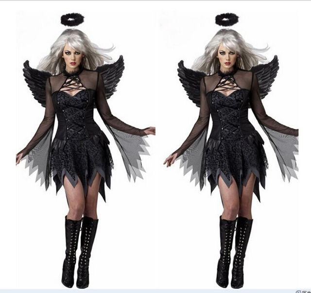 Sexy angel of death costume