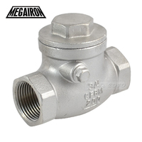 Brand New 3 4 Swing Check Valve WOG 200 PSI PN16 Stainless Steel SS316 CF8M NEWHigh