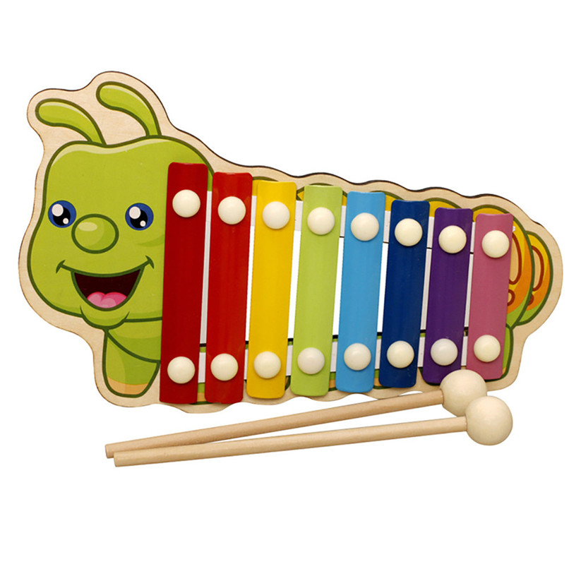 Xylophone-Instrument Toys Wooden Early-Wisdom-Development Education Baby Children Kid