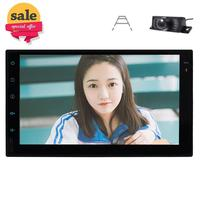 Android 7.1 2Din In Dash Car GPS Sat Navigation Head Unit MP3 Radio AM/FM Player Car Stereo support Bluetooth/USB Backup Camera