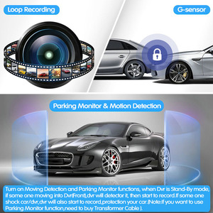 Image 3 - E ACE 7.0นิ้วรถDvrกระจกมองหลังTouch Dashกล้องบันทึกวิดีโอFHD 1080P Dualเลนส์ด้านหลังกล้องDashcam