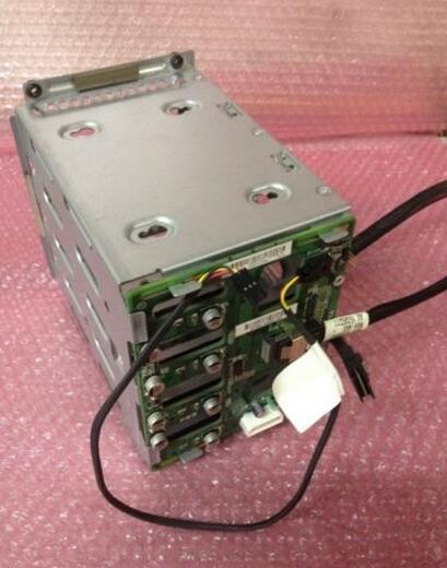 Hard drive cage for 519736 001 466510 001 493228 004 519736 001 ML150G6 well tested working