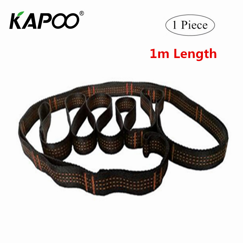 1PCS 100cm Air Yoga Hammock Extension Belt Daisy Rope High Strength Climbing Safety Rope Suspenders Straps wrap skinny rope belt