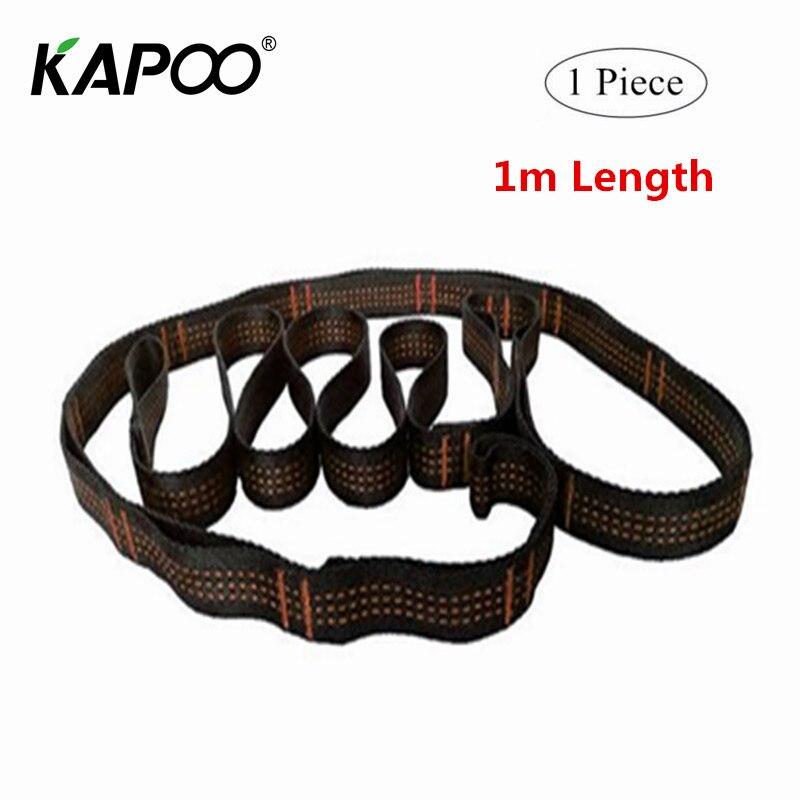 все цены на 1PCS 100cm Air Yoga Hammock Extension Belt Daisy Rope High Strength Climbing Safety Rope Suspenders Straps онлайн