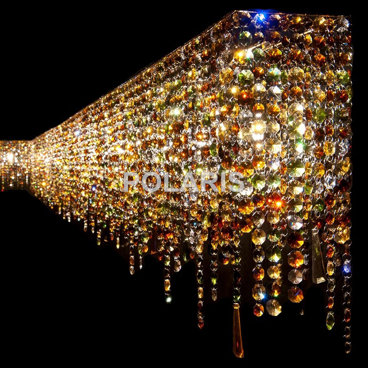 Image 2 - Contemporary Modern Luxury LED K9 Crystal Chandelier Lighting Hanging Lights / Lamps for Villa Dining Room and Hotel Decoration-in Chandeliers from Lights & Lighting
