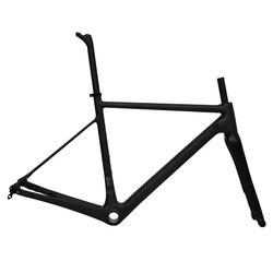 Winice deng fu UD matowy Super lekki rower szosowy rama karbonowa płaski uchwyt przez oś zestawu ramek rowerowych