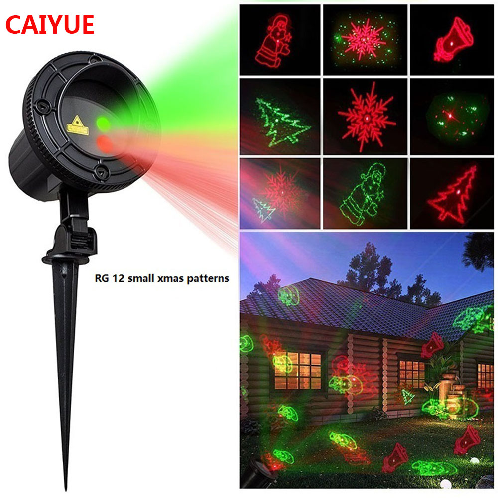 Christmas Laser Lights Outdoor Projector Motion 12 Xmas patterns Waterproof IP65 RF Remote for Garden Landscape Decoration christmas laser lights outdoor projector motion 12 xmas patterns waterproof ip65 rf remote for garden landscape decoration