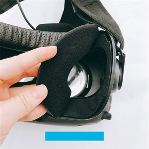 Image 3 - for HTC vive/pro VR Memory Face Foam Replacement . Comfortable Pu Leather Cushion Pad, Increased FOV. 10*210 * 110 mm