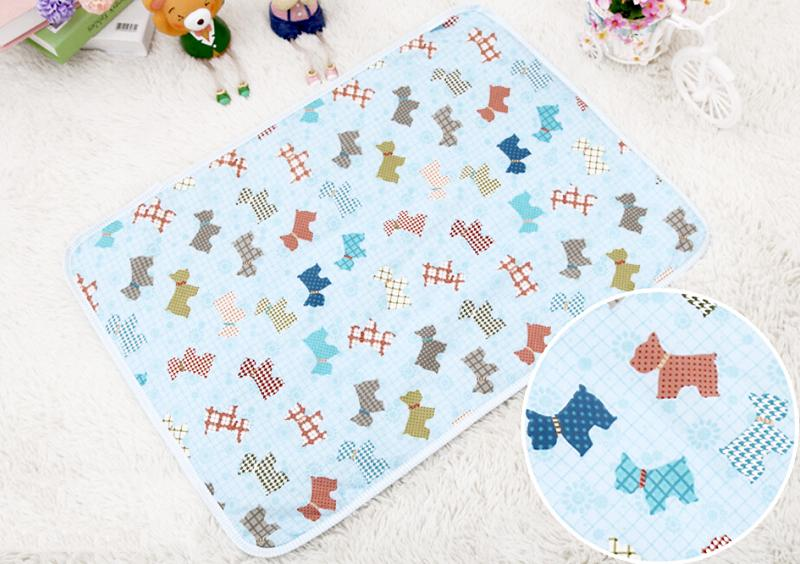 1PCS Baby Diaper Changing Crawling Mat Waterproof Diaper Baby Underpad Cotton Mattress Changing Table Urine Mat Portable
