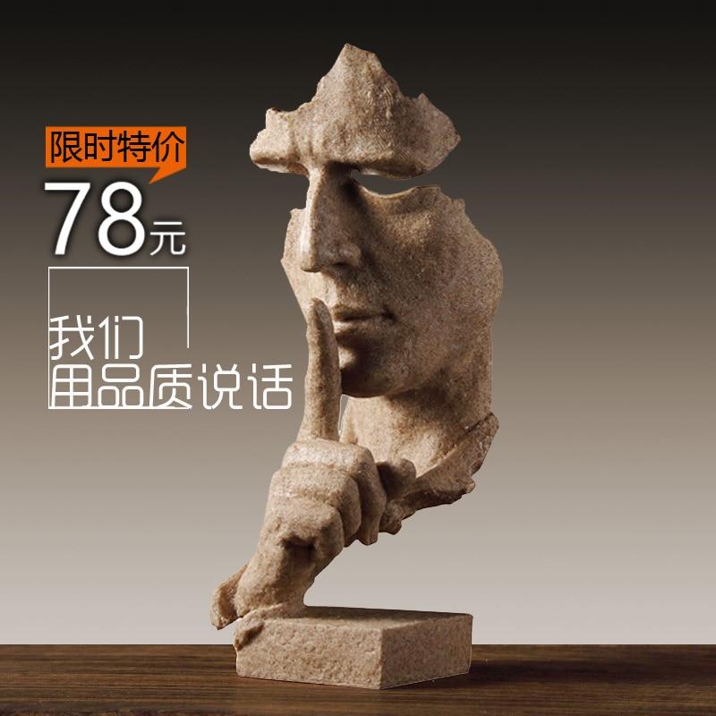 XXX GAbstract sculptuur handwerk decoratie retro kantoor, woonkamer - Huisdecoratie