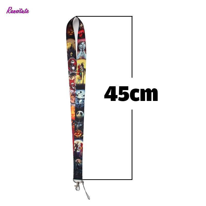 Ransitute The Nightmare Before Christmas Mobile Phone Straps for Phones iPhone X Samsung Camera Badge Holders