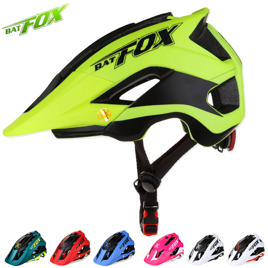 BATFOX Men Cycling Road Mountain Bike Helmet Capacete Da Bicicleta Bicycle Helmet Casco Mtb Cycling Helmet Bike cascos bicicleta