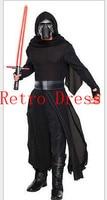 Star Wars7cosplay Kylo Ren Cosplay Star Wars Force awakening clothing Halloween Cosplay Costume for men women