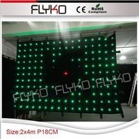 Draagbare led fase gordijn scherm p18m 2*4 m-in Toneelbelichtingseffecten van Licht & verlichting op