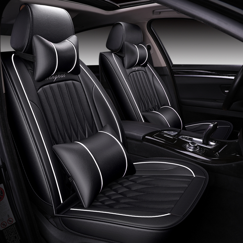 2019 new PU Leather Auto Universal Car Seat Covers For