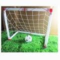 Nuevos niños mini tren survetement futbol gol puerta puerta puestos conjunto con redes de deporte de interior niños juguete