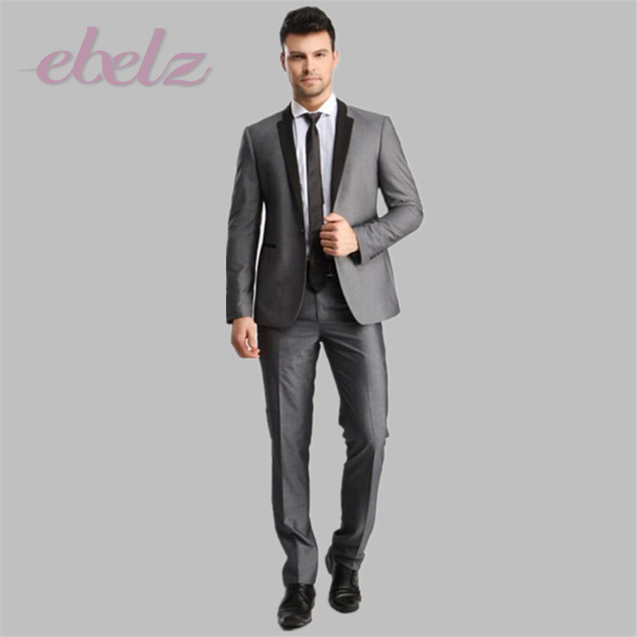 Grey And Black Suit Jacket | My Dress Tip