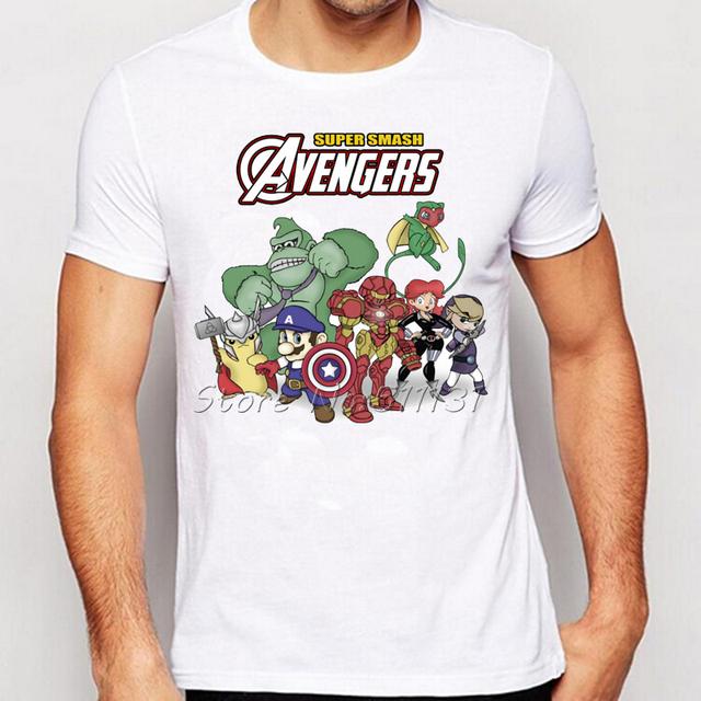 """Avengers – """" Super Smash Avengers """" Men T-shirt"""