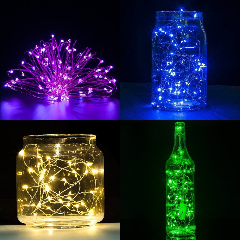 BEILAI Copper LED String Light Fairy LED Christmas Lights Outdoor Indoor Holiday Decoration For Party Wedding