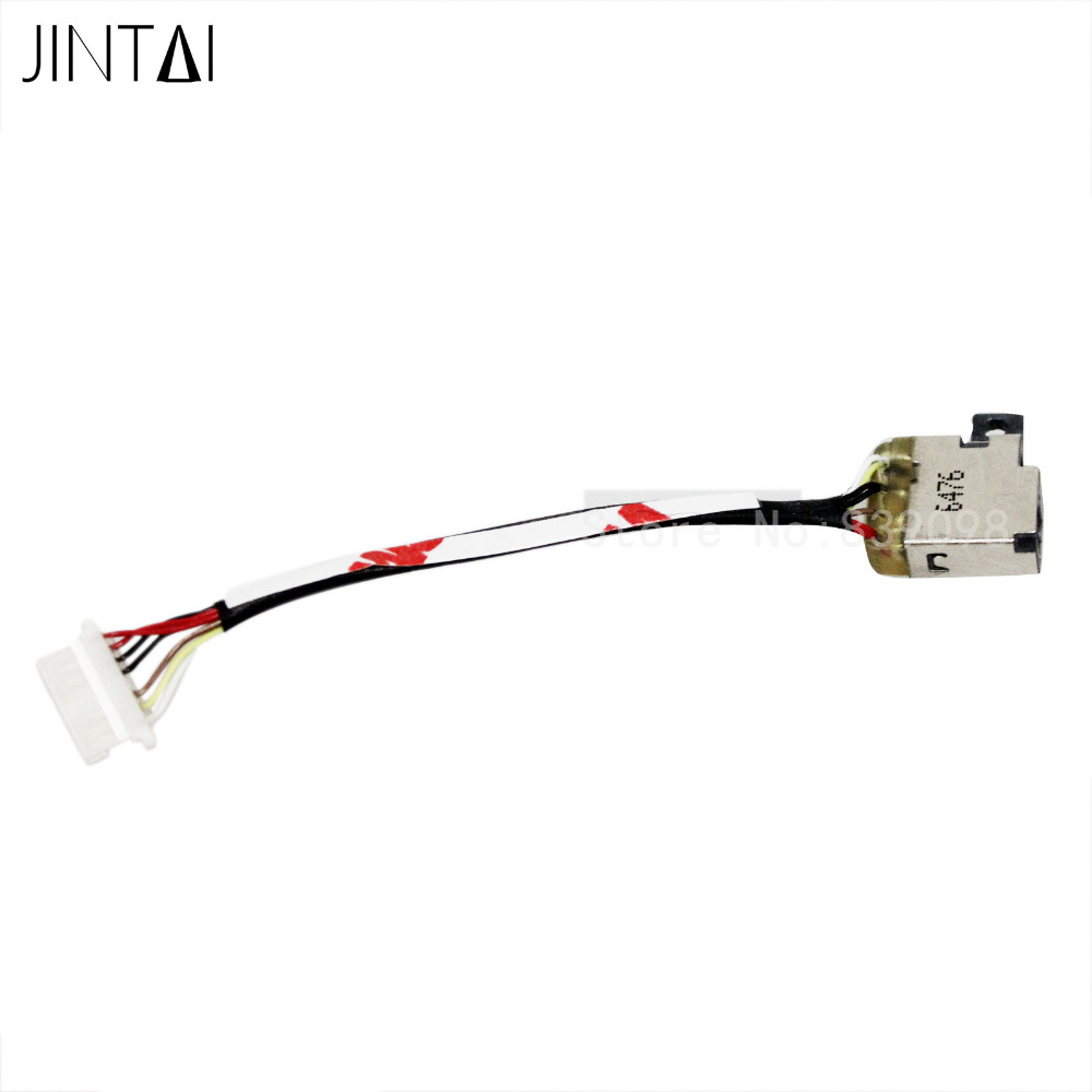 Jintai DC POWER JACK CABLE FOR HP Spectre X360 13-4193dx 13-4193nr 13-4194dx 13-4125nr 13-4128ca 13-4195dx 13-4195nr 13-4196dx
