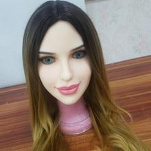 #125 oral sex doll head for lifesize adult doll 135cm-176cm realistic doll head