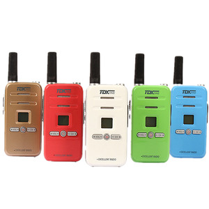 Image 5 - 100% Original TD Q7 FRS/GMRS Mini Colorful Walky Talky Q7 Scan Emergency Alarm Small Children Two Way Radio Kids Walkie Talkie
