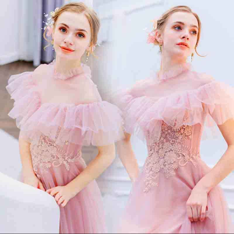 Large Size 5XL Pink Evening Party Dress Custom Luxury Wedding Bridal Formal Dress Birthday Gift For Lady Plus Size 6XL 5XL 4XL-in Dresses from Women's Clothing    1
