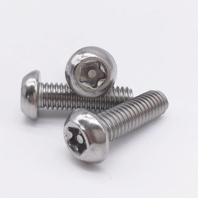 Sensationelle Metric Security Screw Torx 5 Star Pin in Torx Drive Button Head XG22