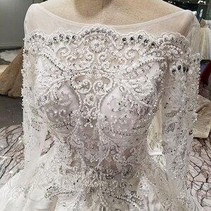 Image 5 - AIJINGYU Plus Size Đồ Bầu Lớn Tuổi Hơn Cô Dâu Ấn Độ Năm 2021 Anh Áo Chất Lượng Phong Cách Công Chúa Váy Cưới Có Bán
