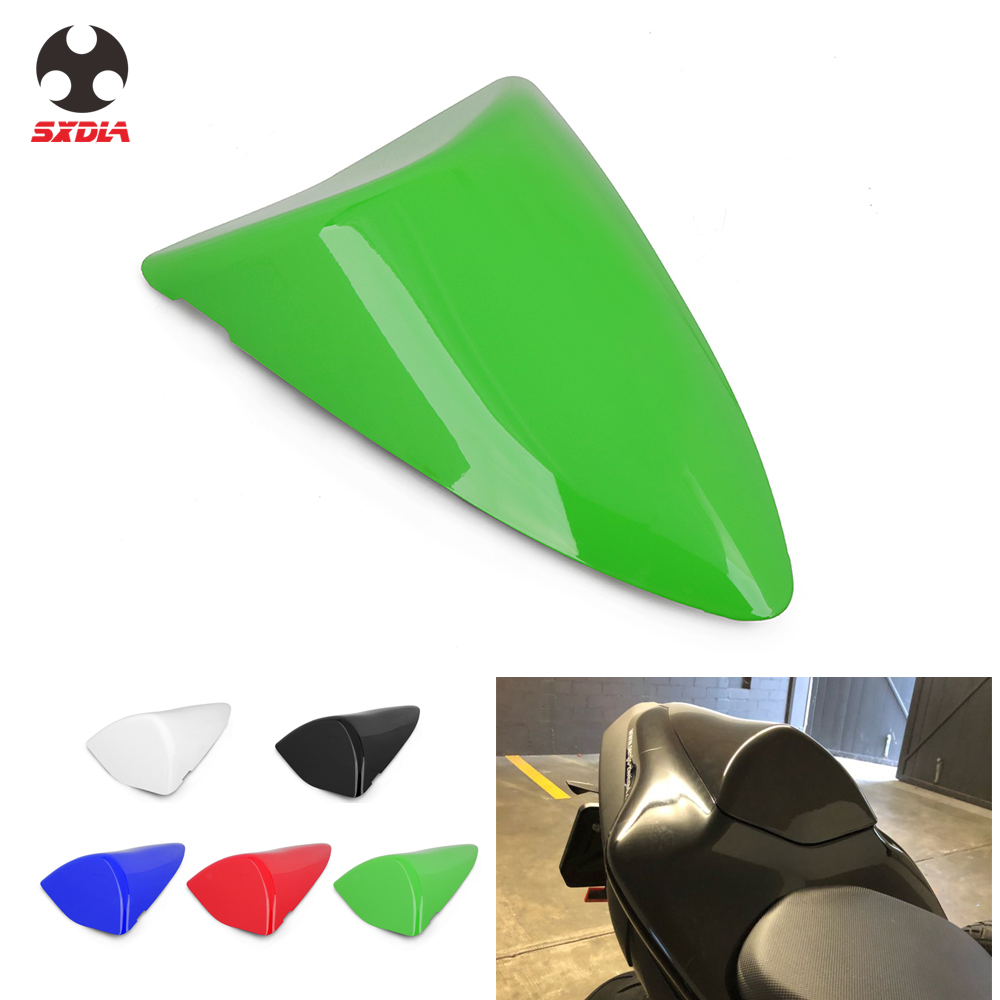 Artudatech Motorbike Rear Seat Cover Cowl Passenger Pillion Motorcycle Seat Cowl Fairing Tail Cover for K-A-W-A-S-A-K-I ZX6R ZX 6R 2000-2002