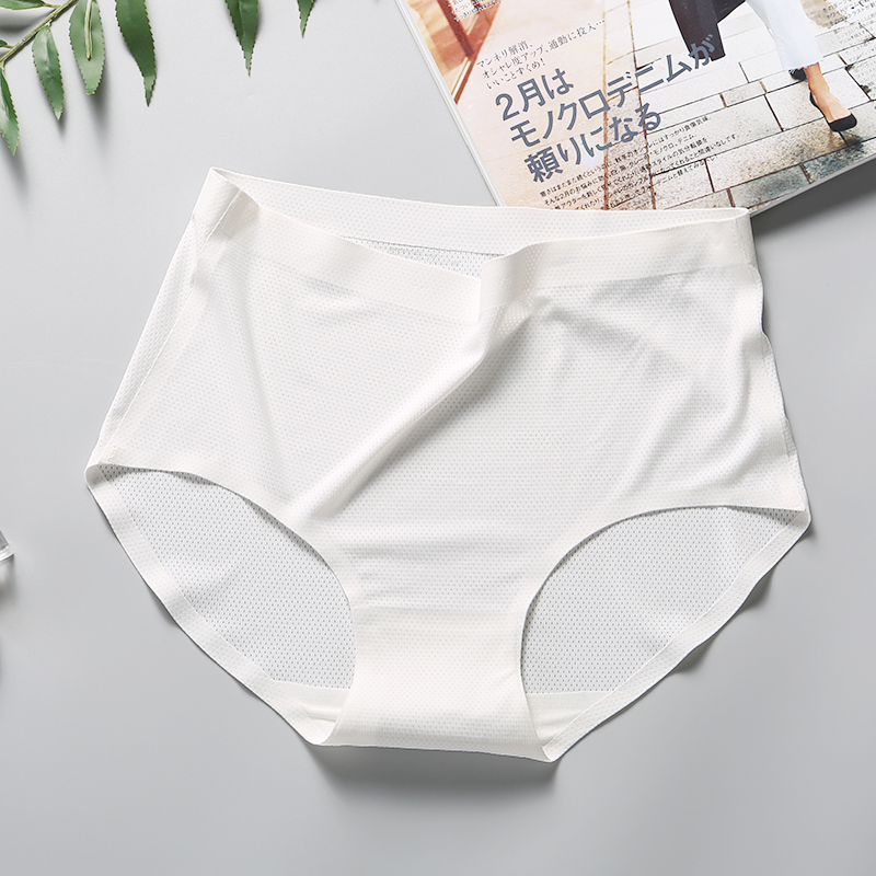 Hot New Quality <font><b>Women's</b></font> Briefs Shorts Fashion <font><b>Sexy</b></font> Brands Ms <font><b>Breathable</b></font> Piece Seamless Girl Underwear Ice Silk <font><b>Panties</b></font> Underpant image
