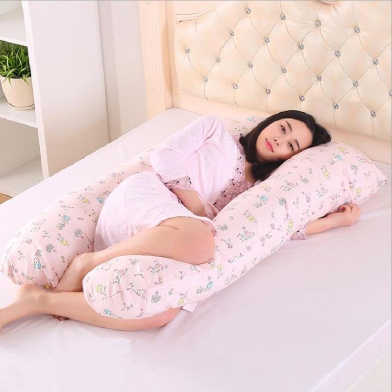 Pregnancy full Body Comfortable pillow - Pregnancy Side Sleeper cushion 1