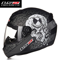 Free shipping lastest style high quality LS2 helmet motorcycle helmet full face racing DOT ECE approved FF352