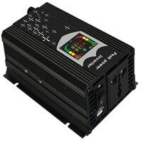 300 Вт 500 Вт автомобиля Мощность инвертор 12 В 220 В постоянного тока для многофункциональный конвертер Адаптеры питания светодиодный цифровой ...