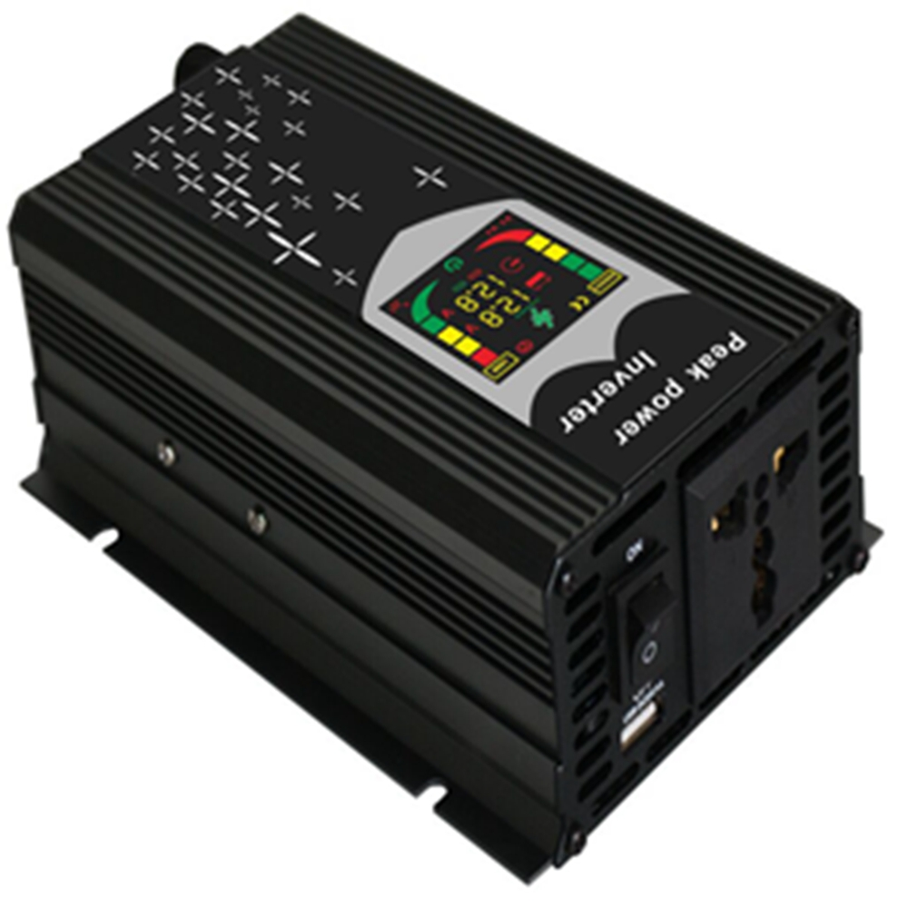 300W 500W Car Power Inverter 12V 220V DC To AC Multi