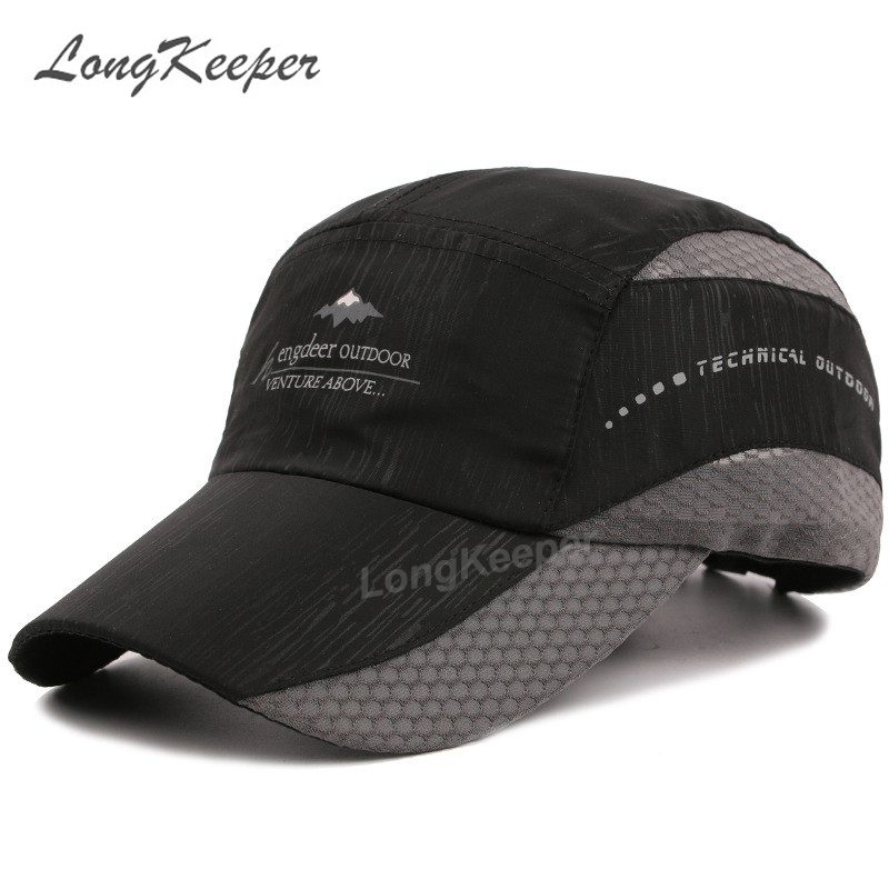 Long Keeper 2017 Unisex Casual Adjustable Baseball Caps Motorcycle Cap Hat Quick Dry Men Women Casual Summer Hat GU14 climate men women no logo brushed best heavy thick massy warm baseball caps twill sports active casual one size adjustable hat
