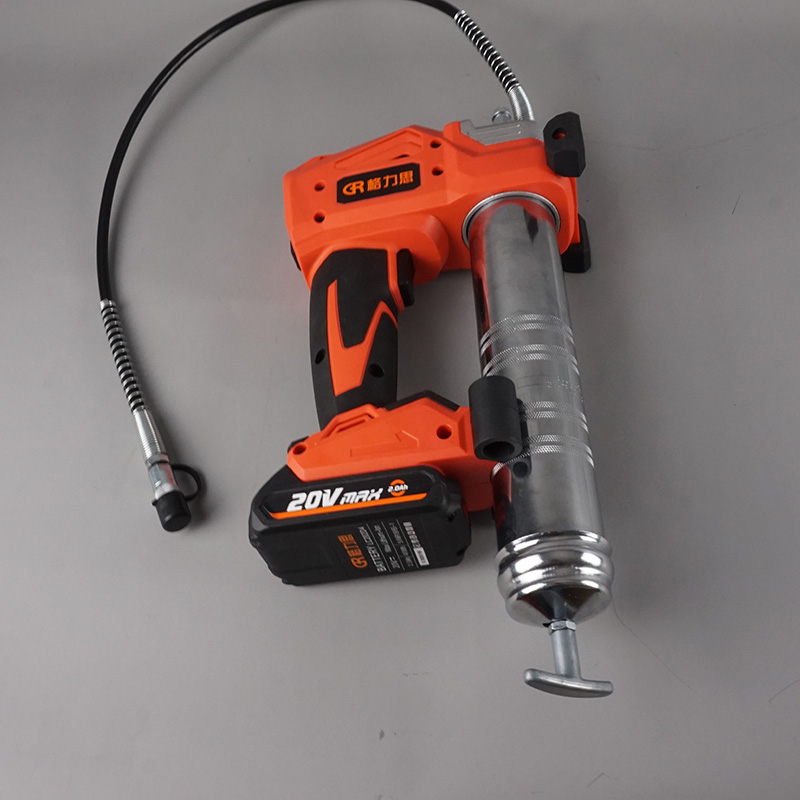 Electric Grease Gun >> 20V cordless 450ml high quality electric grease gun lithium battery grease gun can fit with ...