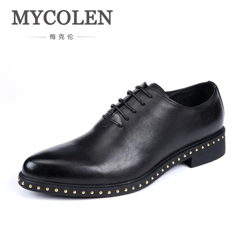 MYCOLEN Genuine Leather Black Red Pointed Toe Shoes Men Height Increase Breathable Shoes Business Tenis Casual Masculino gram epos men casual shoes top quality men high top shoes fashion breathable hip hop shoes men red black white chaussure hommre